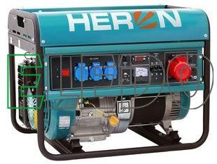 Elektrocentrála benzínová 15HP/6kW, pro svařování EGM 68 AVR-3